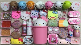 Special Series Hello Kitty Slime | Mixing All My Homemade Sime | Most Satisfying Slime Videos