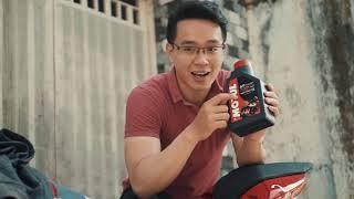 """PKL - Cho Ducati 899 uống """"Sting dâu"""" và cái kết (Motul 7100 10w50 for Ducati Panigale 899)"""