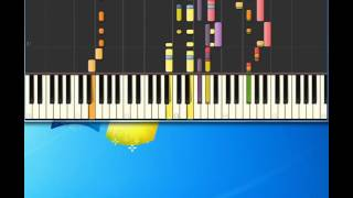 Diana & The Supremes   You Can't Hurry Love [Piano tutorial by Synthesia]