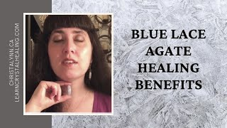 Healing with Blue Lace Agate