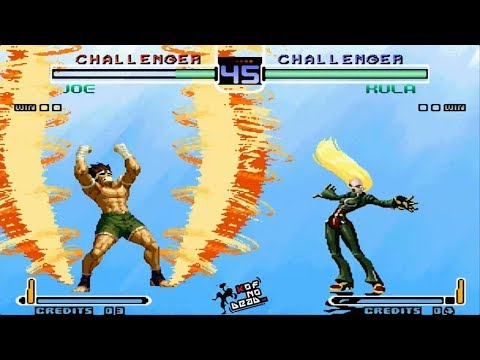 Joe Oculto vs Kula Super DM KOF 2002