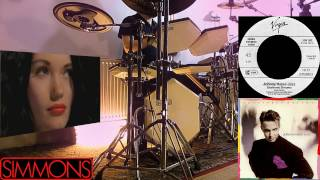 "Johnny Hates Jazz - ""Shattered Dreams"". DRUM COVER. SIMMONS DRUMS SDS 8."