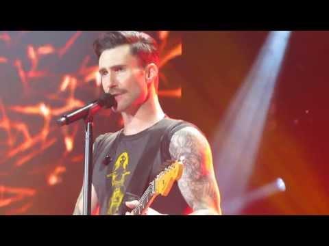 Maroon 5, Shiver Glasgow Scotland 1/2014