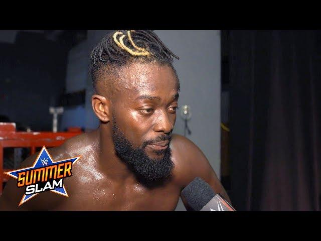 Kofi says Orton crossed a line at SummerSlam: SummerSlam Exclusive, Aug. 11, 2019