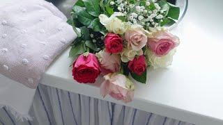 Decorating For Spring | Enjoying My Time At Home | Silent Vlog
