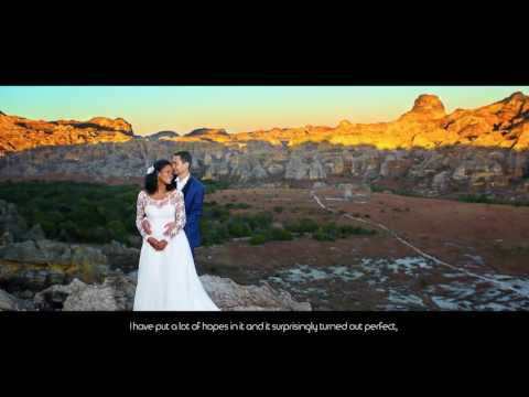 Kiady Ando - Making of  1st post wedding at Isalo Madagascar
