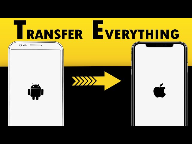 4 Ways to Transfer Data from Android to iPhone 2021 | Move from Android to iOS
