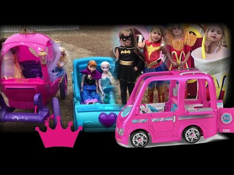 Disney Princess Halloween Costume Runway Kids Ride On Barbie Superhero
