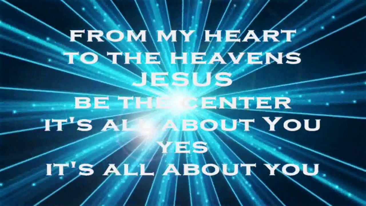 Jesus at the center decade version israel houghton amp new breed