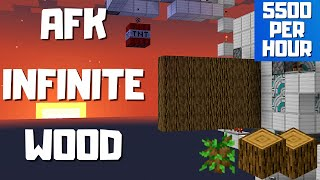 AFK Oak Tree Farm | 5500/HR | 1.16.3 - 1.16 Minecraft