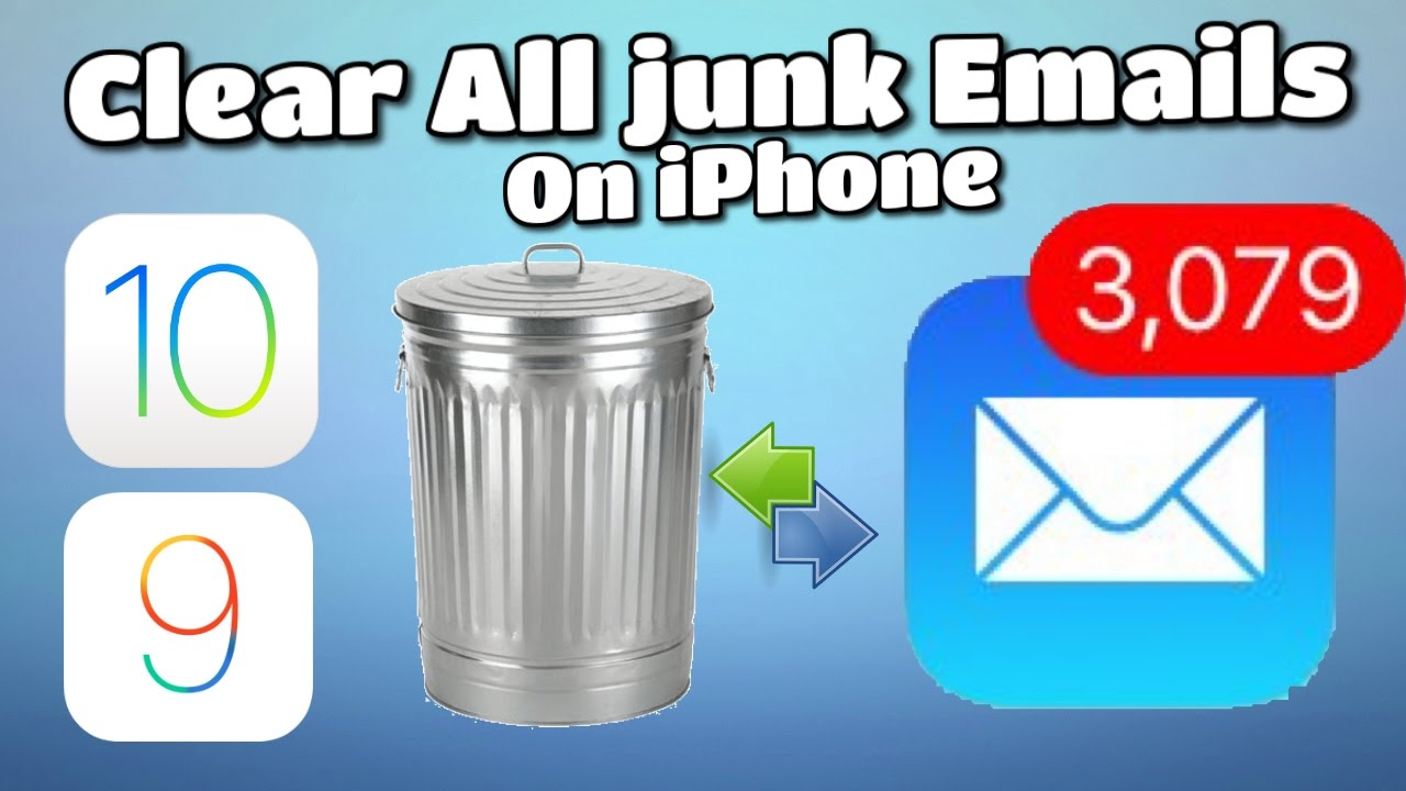how to delete all your emails on iphone at once