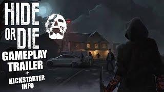 Hide or Die Gameplay Trailer | Asymmetrical Horror  Kickstarter