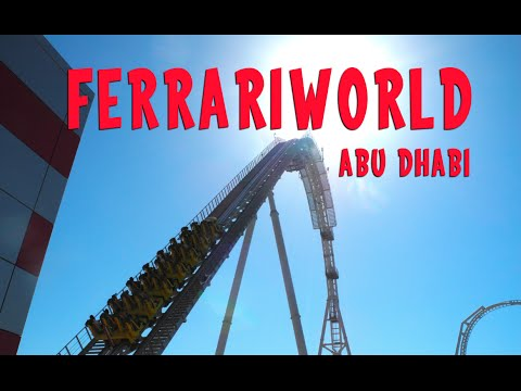 Ferrari World Abu Dhabi / World's Fastest Rollercoaster, Indoor Amusement Park in UAE