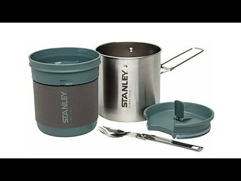 Stanley Mountain compact steel cookset
