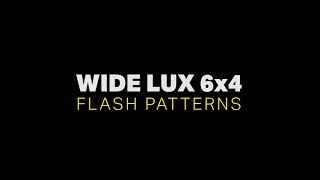 Feniex Single-Color Wide Lux 6x4 Flash Patterns