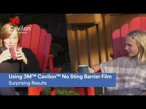 Using 3M™ Cavilon™ No Sting Barrier Film: Surprising results