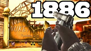 NUKETOWN 1886 ZOMBIES - BURIED WESTERN MASHUP! + BONUS Call of Duty Black Ops 2 Map Remake in WaW