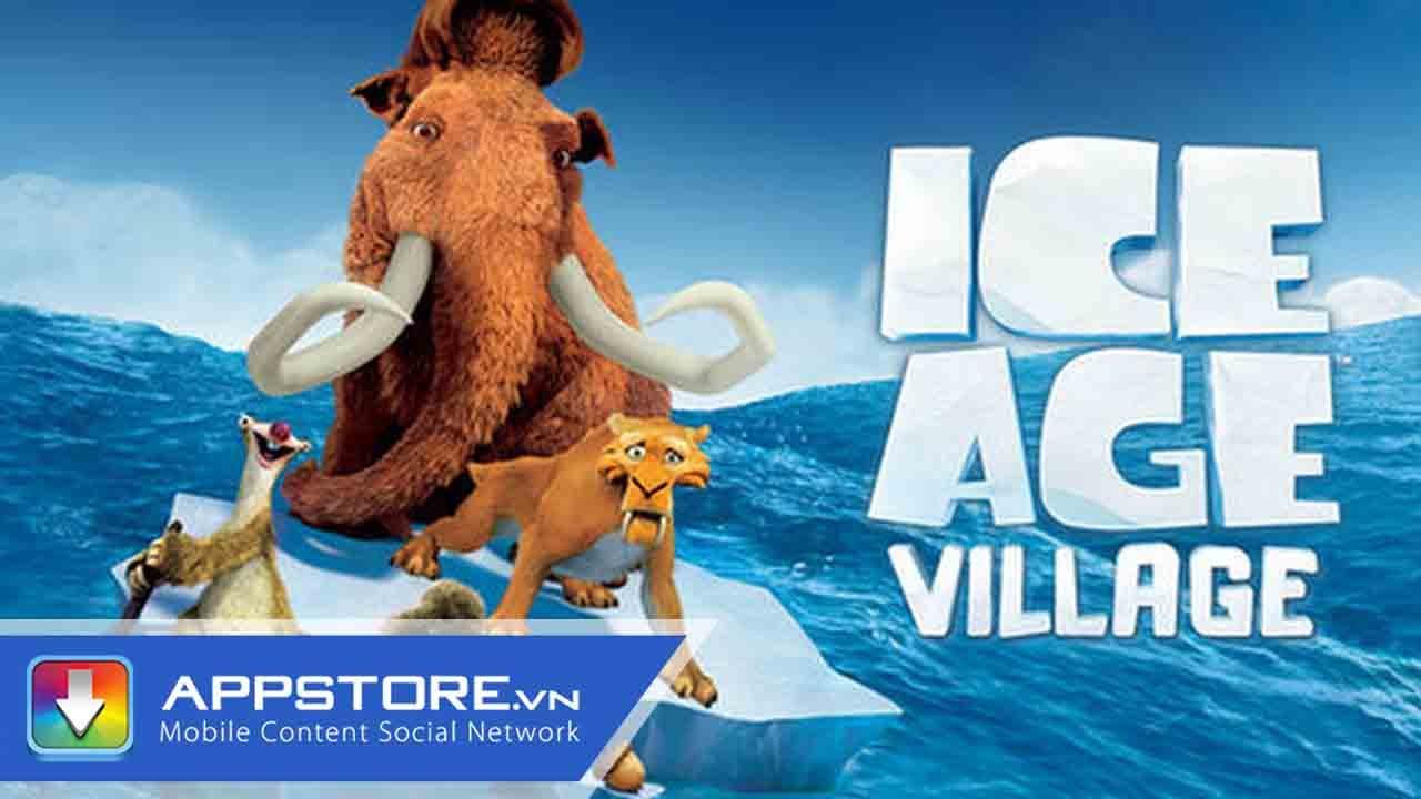 [iOS Game] Ice Age Adventures - Nuôi thú ở kỷ băng hà - AppStoreVn