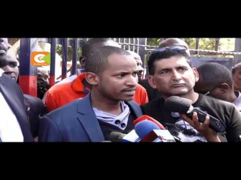 Nairobi  County Senator Johnson Sakaja secures release of MP Babu Owino