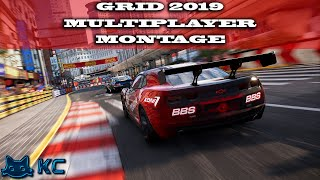Grid 2019 (PC) Online Mutiplayer Montage