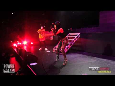 Nicki Minaj LIVE - 'Bees in the Trap' - PowerHouse 2013