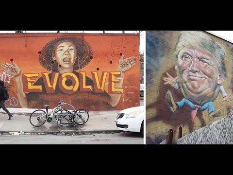 NYC Street Art: Bushwick, Brooklyn