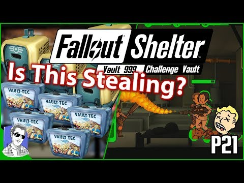 Fallout Shelter Vault 999 Hacking Lunchboxes And Pet Carriers