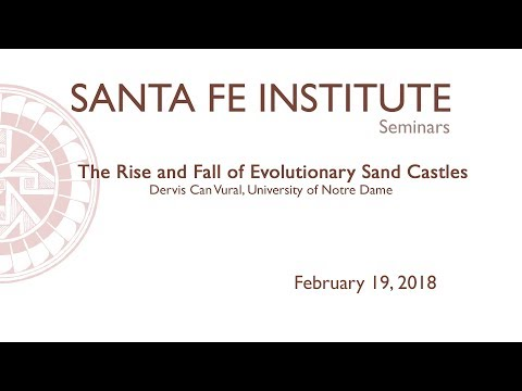 Dervis Can Vural - The Rise and Fall of Evolutionary Sand Castles