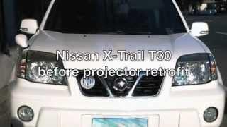 Nissan X-Trail T30 projector