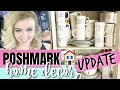 NEW POSHMARK HOME DECOR UPDATE | KITCHEN, COFFEE MUGS, & MORE! | POSHMARK TIPS FOR RESELLING 2019
