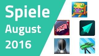 Top Offline-Spiele für Android & iOS - August 2016