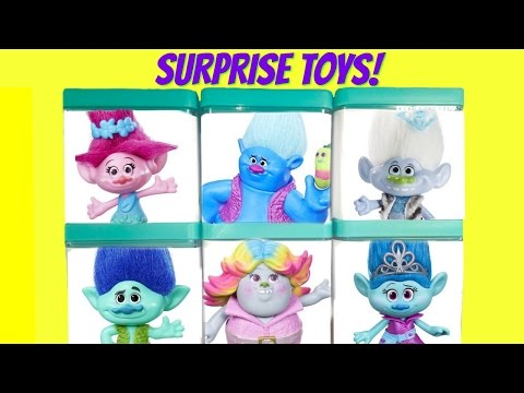 Trolls Movie Poppy Branch Guy Diamond Surprise Toy Blind Boxes