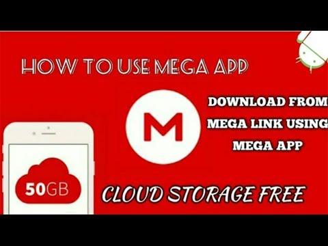 How To Download Files using MEGA App | Get 50 GB cloud storage Free