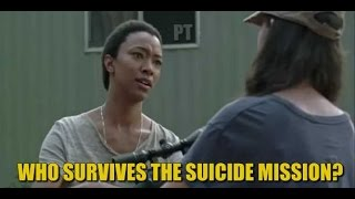 The Walking Dead Season 7 Discussion Who Survives The Suicide Mission?