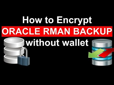 How to Encrypt RMAN BACKUP || Without oracle wallet step by step
