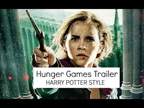 The Hunger Games Trailer [Harry Potter Style]