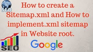 How to create a sitemap.xml for website | How to implement xml sitemap  [Hindi] Mp3