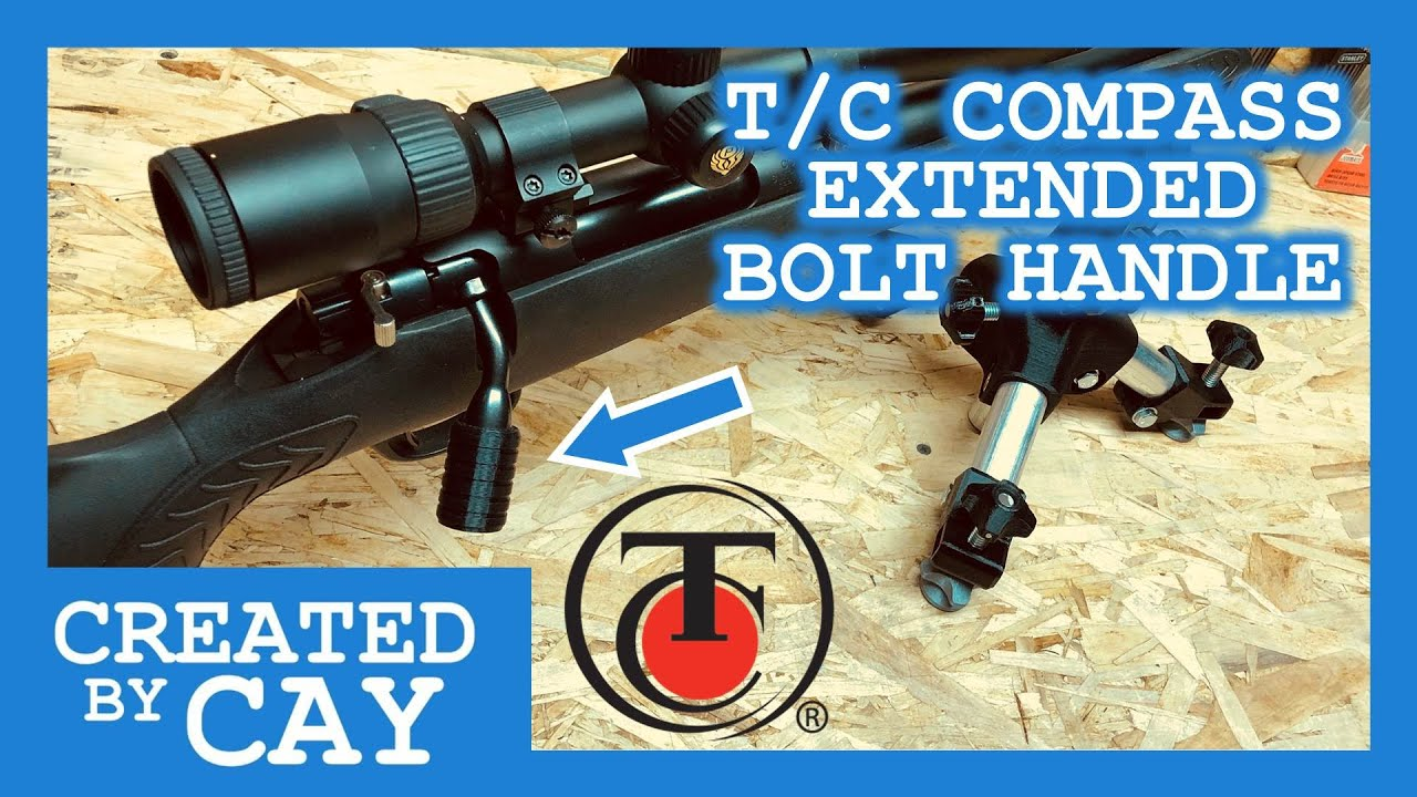 Thompson Center TC Compass - Aftermarket Extended Bolt Handle - $5 Solution