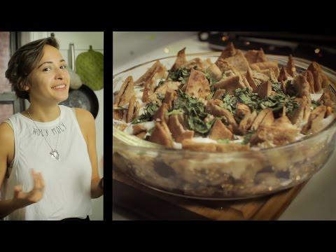 Palestinian Eggplant Fatteh | Sahtein!
