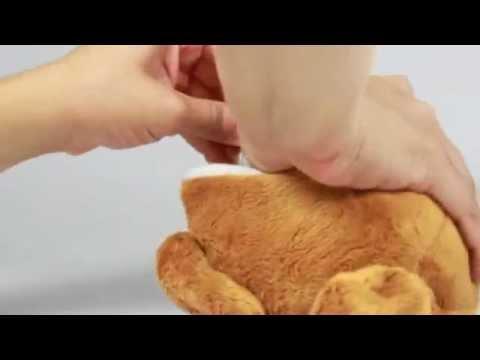 "Hello Kitty Reversible 8"" Plush: Turkey"