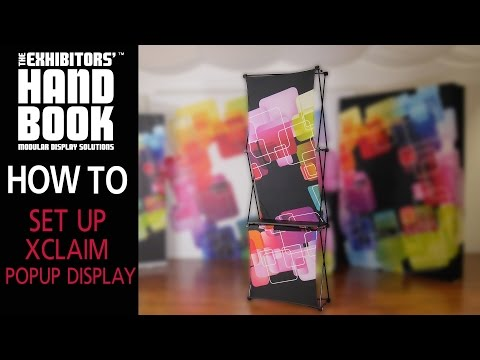 Fabric 10 Foot Pop-Up Tradeshow Exhibit | California