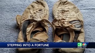 Sacramento man's old running shoes sell for tens of thousands of dollars