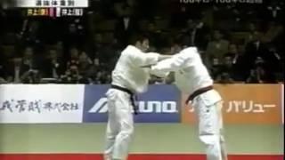 JUDO 2004 All Japan: Kosei Inoue 井上 康生 (JPN) – Tomokazu Inoue (JPN) (brothers)