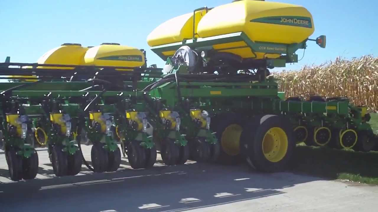 John Deere 54 Row Planter Worlds Biggest To Date Youtube