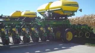 John Deere 54 row planter~~worlds biggest to date!