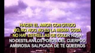 ALE GUZMAN HACER EL AMOR CON OTRO KARAOKE