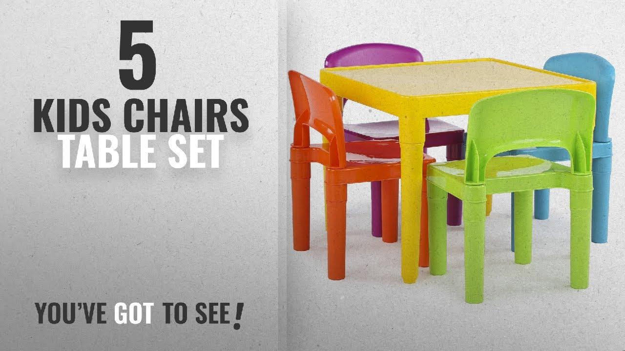 Top 10 Kids Chairs Table Set [2018]: Tot Tutors Kids Plastic Table ...