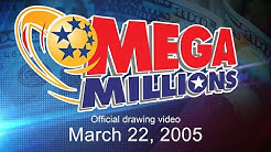 Mega Millions drawing for March 22, 2005