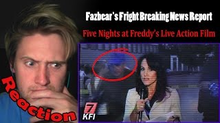 Fazbear S Fright Breaking News Report REACTION PURPLE GUY SPOTTED