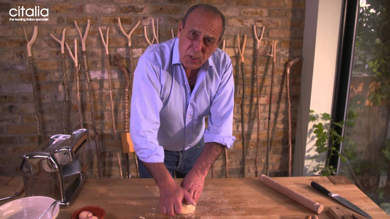 Learn How To Make Fresh Tagliatelle Pasta With Gennaro Contaldo